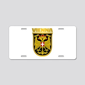 Vienna Aluminum License Plate